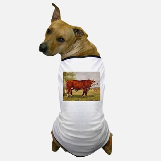Hereford Bull The Champion Dog T-Shirt