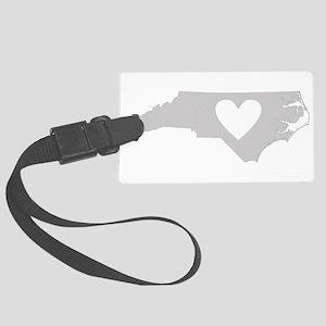 Heart North Carolina Large Luggage Tag