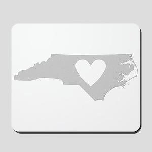 Heart North Carolina Mousepad