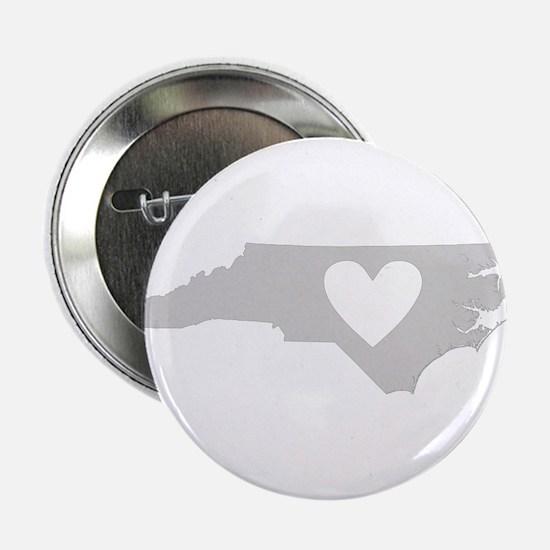 """Heart North Carolina 2.25"""" Button"""