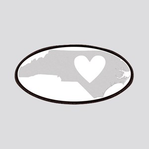 Heart North Carolina Patches