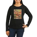 Flat Arizona Women's Long Sleeve Dark T-Shirt
