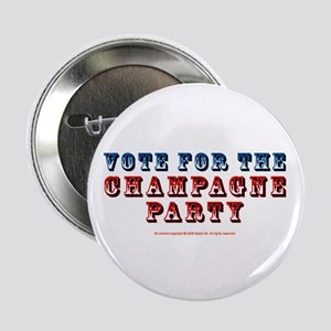 Vote for Champagne Party Button