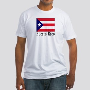 Puerto Rico Fitted T-Shirt