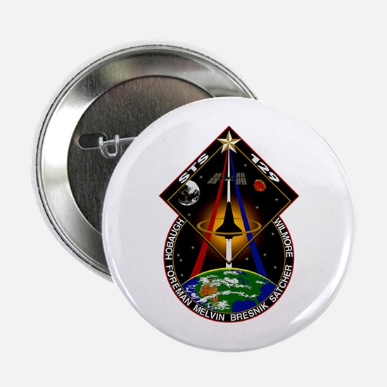 """STS-129 Print 2.25"""" Button"""