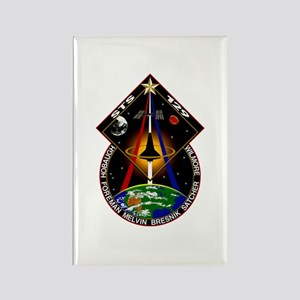 STS-129 Print Rectangle Magnet