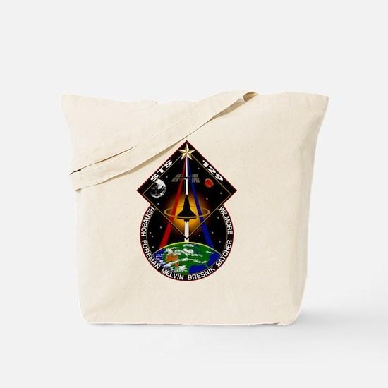 STS-129 Print Tote Bag
