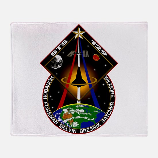 STS-129 Print Throw Blanket