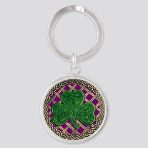 Shamrock And Celtic Knots Keychains