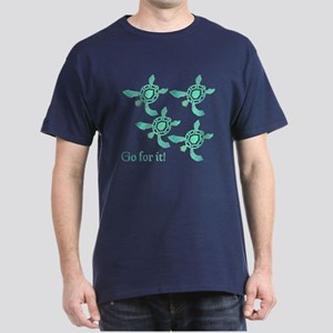 Green Sea Turtles Dark T-Shirt