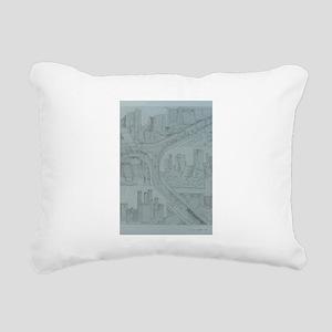 triple fall Rectangular Canvas Pillow