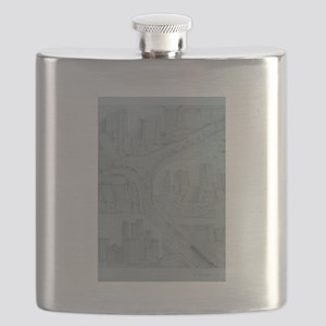 triple fall Flask