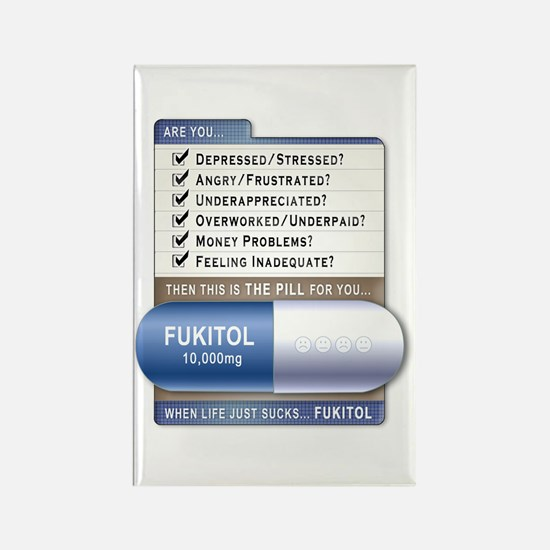 Fukitol Rectangle Magnet