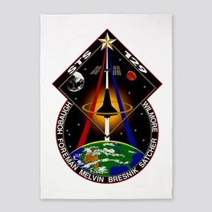 STS-129 Print 5'x7'Area Rug