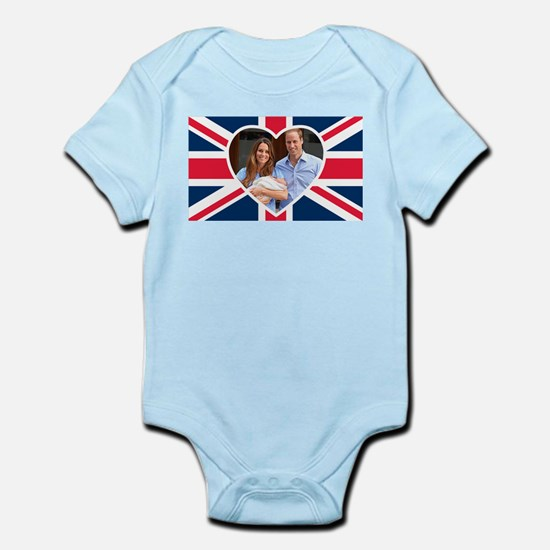 Royal Baby - William Kate Body Suit