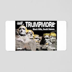 Trumpmore Aluminum License Plate