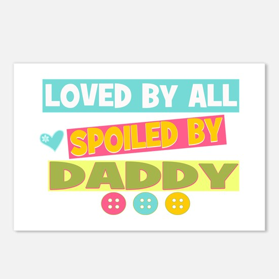 Spoiled By Daddy Postcards (Package of 8)
