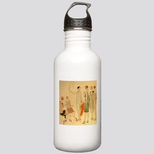 1920s Summer Fashion Stainless Water Bottle 1.0L