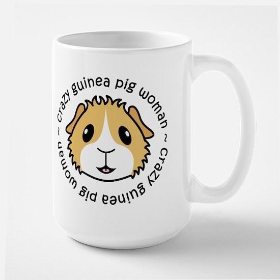 Crazy Guinea Pig Woman Mug