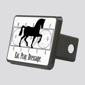 Eat. Pray. Dressage. Hitch Cover