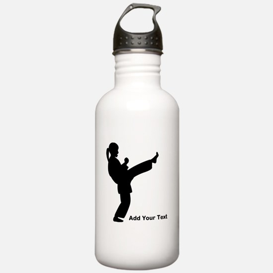 Martial Artist Water Bottle
