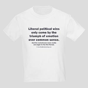 No Sense Liberals Kids Light T-Shirt