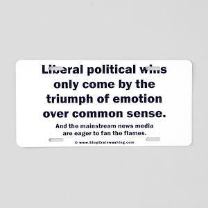 No Sense Liberals Aluminum License Plate