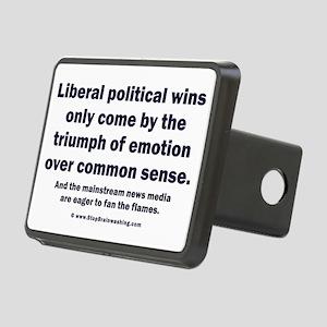 No Sense Liberals Rectangular Hitch Cover