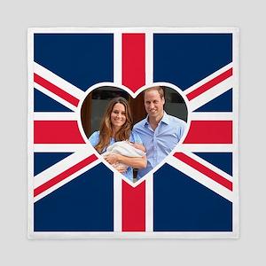 Royal Baby - William Kate Queen Duvet