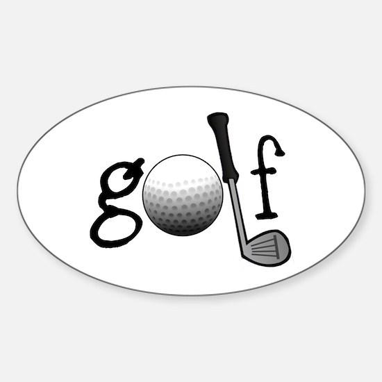 Golf Bumper Stickers