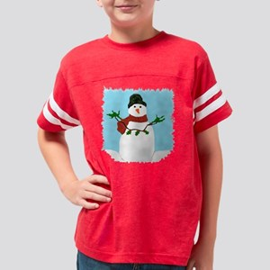 SNOWMAN 1 Youth Football Shirt