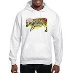 Cheese-Rolling Race Hooded Sweatshirt