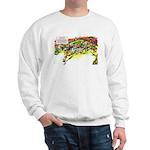 Cheese-Rolling Race Sweatshirt