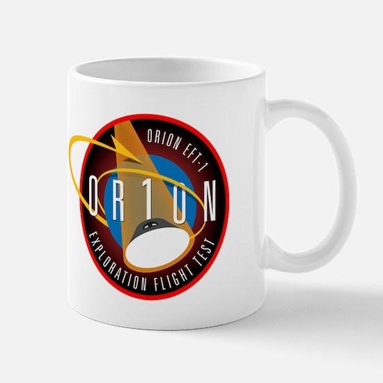 Exploration Flight Test 1 Mug