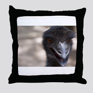 Emu Throw Pillow