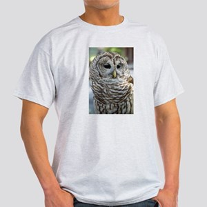 Barred Owl: Who are you??? T-Shirt