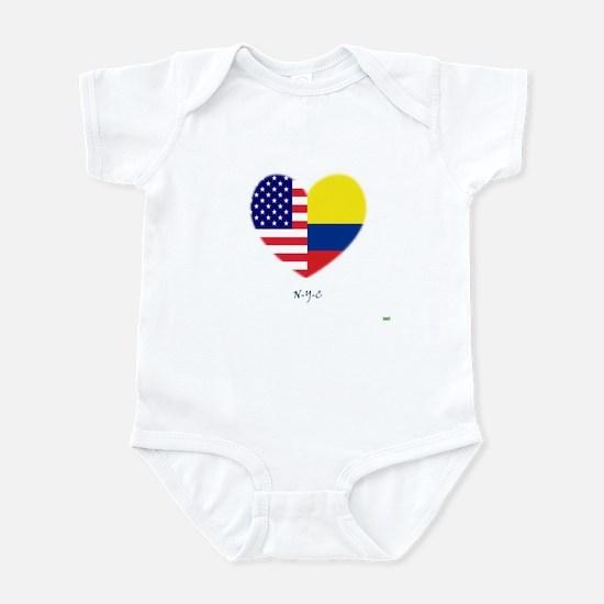 Colombian-in-NYC Infant Bodysuit