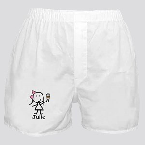 Coffee - Julie Boxer Shorts