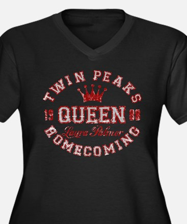 Retro Twin Peaks Homecoming Queen Plus Size T-Shir