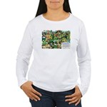 Bog Snorkelling Women's Long Sleeve T-Shirt
