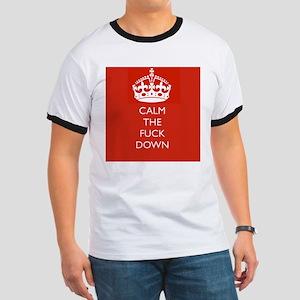 Calm The fuck Down (Keep Calm) T-Shirt