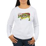 Cheese-Rolling Race Women's Long Sleeve T-Shirt