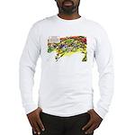 Cheese-Rolling Race Long Sleeve T-Shirt