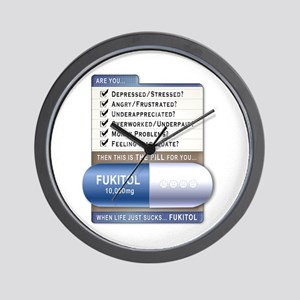 Fukitol Wall Clock
