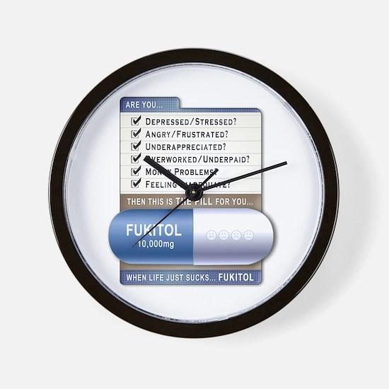 Fukitol Wall Clock
