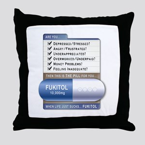 Fukitol Throw Pillow