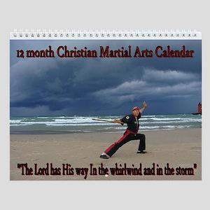 Scripture Martial Arts Wall Calendar