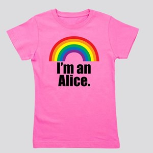 Alice Rainbow Girl's Tee