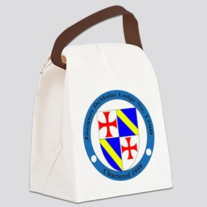 Jacques DeMolay Lodge Pin Canvas Lunch Bag