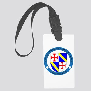 Jacques DeMolay Lodge Pin Luggage Tag